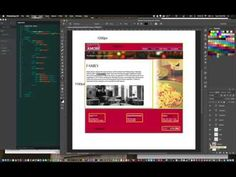 Module 4 : Building a site from start to finish using the BOX Model, DIVs, CSS - YouTube