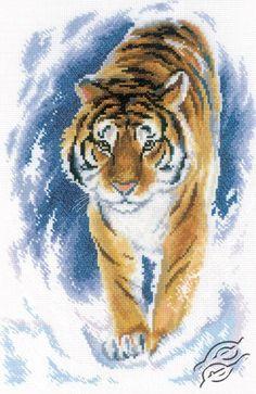 The Graceful tiger - Cross Stitch Kits by RTO - M179
