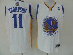 Golden State Warriors Jersey Klay Thompson #11 White Jersey [J78]