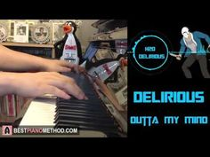 """H2O Delirious Outro Song - """"Delirious Outta My Mind"""" (Piano Cover by Amo..."""