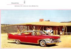 1960 Plymouth Fury in suburbia, under construction.