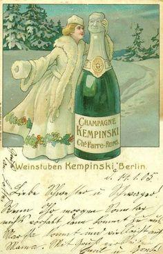 "Weinstuben Kempinski ""Champagne Kempinski Chs. Farre-Reims"", Berlin, 1905."
