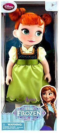 "Disney Store Frozen Anna Animators Collection Toy Doll 16"" - List price: $49.95 Price: $37.99 Saving: $11.96 (24%)"