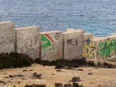 Tylko Legiunia - murale Malta #Legia #Malta #mural #murale #muraleLegia #muraleMalta