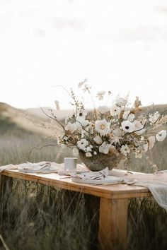 Earthy bohemian picnic ideas for summer on 100 Layer Cake picnic tables Wedding & Party Ideas Floral Centerpieces, Wedding Centerpieces, Wedding Table, Floral Arrangements, Wedding Bouquets, Our Wedding, Dream Wedding, Wedding Decorations, Cake Wedding