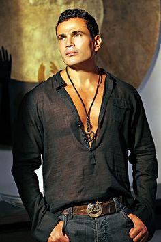 Amr Diab, award winning Egyptian pop singer