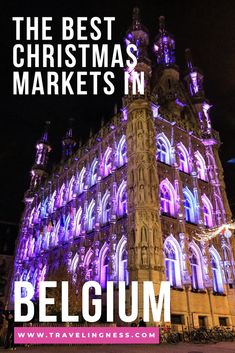 Christmas Destinations, Europe Destinations, Europe Travel Tips, European Travel, Amazing Destinations, Travel Guides, Bruges Christmas, Christmas Travel, Holiday Travel