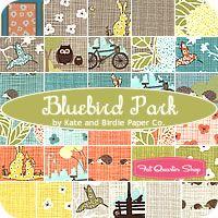 Bluebird Park Fat Quarter Bundle Kate & Birdie for Moda Fabrics - Fat Quarter Shop