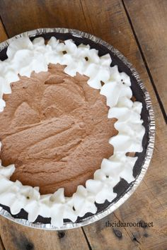 Chocolate Silk Pie Recipe  |  The Idea Room