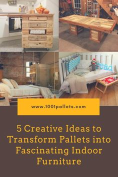 Pallets are for much more than just shipping, nowadays. They are much more commonplace and can be used for a vast variety of uses. You can either use new or second-hand pallets to build various furnishings. Many people have used them to build unique and attractive indoor furniture; you can build... #BestOf, #Furniture, #PalletBed, #PalletCoffeeTable, #RecyclingWoodPallets