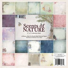 49 and Market - Scents of Nature - 6x6 Collection Pack - The Rubber Buggy