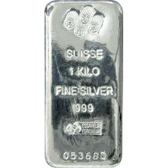 1 kg PAMP Suisse Silver Cast Bar – Malaysia Bullion Trade
