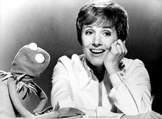 Julie Andrews & Kermit the Frog... two of the classiest creatures to walk the planet