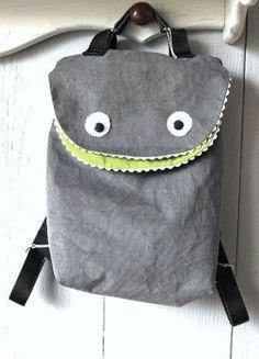 aa51a73c31690 Monster-Rucksack für Kinder nähen - Schnittmuster und Nähanleitung via  Makerist.de