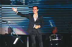 Marc Anthony vino a vivir la vida a #Bolivia