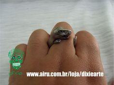 Anel dino  www.airu.com.br/loja/dixiearte