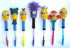 Minion pencil covers