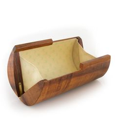 Koa Clutch - Handmade Wooden Purse