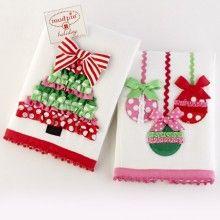 Cute Christmas towels!