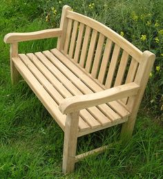This chunky style 4ft bench is a perfect vantage point to relax and admire your patio or cottage garden. This easy to assemble seat is ideal for smaller spaces and constructed of Grade A hardwearing teak sanded to a silky smooth finish. Product Descriptions by @Rovingjay