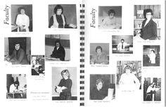Flashback Friday: 1981 Faculty