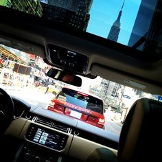 Clear skies and a through the glass of the What's outside of your window? Range Rover Sport, Offroad, Transportation, Luxury, Sports, Supercars, Nyc, Window, Lifestyle