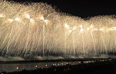 Fireworks in Japan  Nagaoka Festival (August )