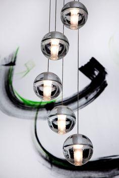 Glass Pendant Light | JHR Interiors