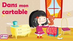 Dans mon cartable (Comptine du petit écolier) ⒹⒺⓋⒶ Chanson Maternelle - YouTube Lus, Back To School, Family Guy, Fictional Characters, Nursery Rhymes, Satchel, Youth, Books To Read, Children