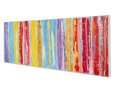Cuadro horizontal abstracto colores