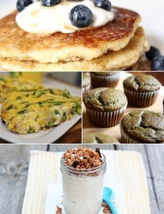 Grab It and Go! Healthy Make-Ahead Breakfast Ideas - these are good snack ideas and pre-post workout food ideas, breakfast all day! ;)