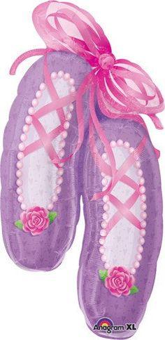 Ballerina Shoes Balloon Ballet Theme Ballet Class by ThePartyGnome
