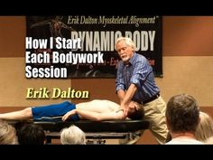 How to start each Bodywork session (this will vary due to MT's preference and customized techniques)