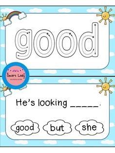 Sight Word Task Cards. Inside you will find 2 task cards and missing sentences sets for the first set of Dolch Primer sight words.  These cards are as easy as print, laminate, and cut! They are great for centers, Daily Five, small groups, and assessment.