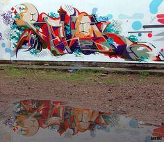 REVOK  http://www.widewalls.ch/artist/revok/ #graffiti #streetart #urbanart