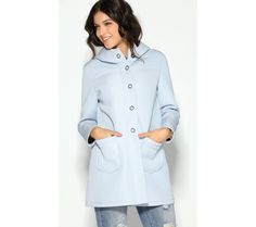 Kabát na patenty s kapucňou | modino.sk #ModinoSK #modino_sk #modino_style #style #fashion #newin Chef Jackets, Shirt Dress, Mantel, Coat, Shirts, Dresses, Women, Fashion, Gowns