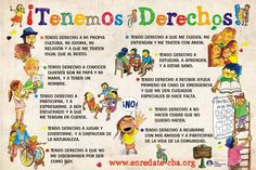 derechos de los niños - Google Search Ap Spanish, Spanish Culture, Stranger Things Gifts, Spanish Teaching Resources, Beginning Of Year, Spanish Classroom, Conflict Resolution, Spanish Language, Human Rights