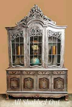 Hey, I found this really awesome Etsy listing at https://www.etsy.com/listing/474687822/warm-silver-mahogany-china-hutch