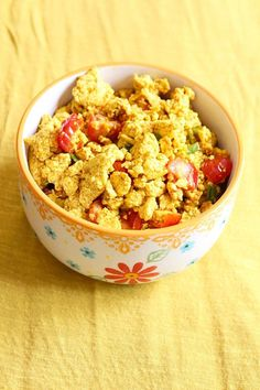 Every vegan has to have a tofu scramble recipe. Because eggs. Spices like cumin and turmeric make this savoury dish perfect for any time of day. Scrambled Tofu Recipe, Tofu Scramble, Savoury Dishes, Potato Salad, Vegetarian Recipes, Spices, Food And Drink, Healthy Eating, Eggs