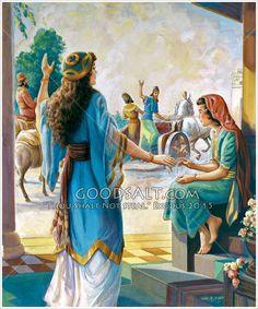 Naaman's wife and little helper 2 Kings 5