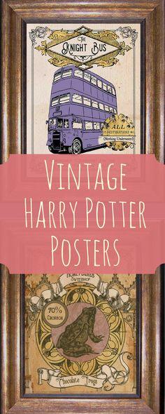 vintage Harry Potter Prints from MyChildishThings