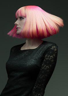 images magazine - NZ Goldwell ColorZoom finalist #colorecapelli #haircolor www.parruccheirando.com