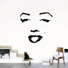 Marilyn Wall Decal at AllPosters.com