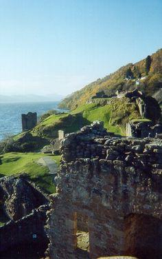 "Castle Urquhart, Scotland. Castle of my ancestors ""The Grants"""