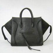 Celine Boston Classic Black Leather Bags