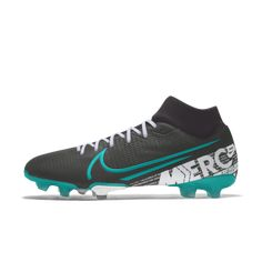 Calzado de fútbol para múltiples superficies personalizado Nike Mercurial Superfly 7 Academy FG/MG By You Girls Soccer Cleats, Soccer Boots, Football Shoes, Nike Football, Soccer Ball, Soccer Pictures, Volleyball Pictures, Cheer Pictures, Iphone Wallpaper Sports