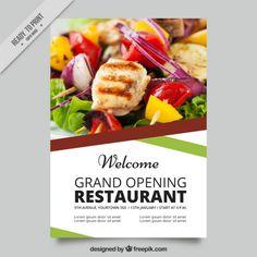 Restaurant Menu Brochure Free Vector  Free Resources
