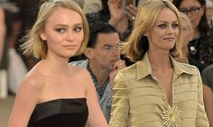 Lily Rose Depp joins her mother Vanessa Paradis in Chanel show (Lily-Rose is 16 not 15 as article  states)