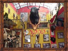 Ole Ole Restaurant, famous not only for its fascinating decor, but also for its delicious fajitas!