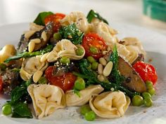 Cooking Channel serves up this Spinach and Tortellini recipe plus many other recipes at CookingChannelTV.com